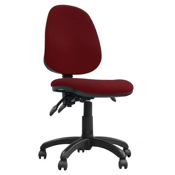 DSK Java 300 Red High Back Task Operator Chair