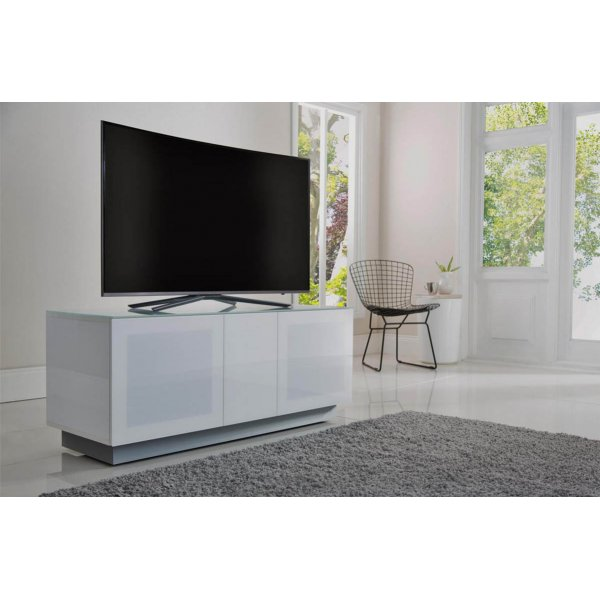"""Alphason Element EMT1250XL-WHI White TV Stand for up to 60\"""" TVs"""