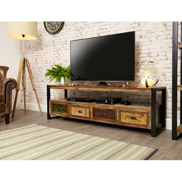 Baumhaus IRF09C Urban Chic Widescreen Television Cabinet
