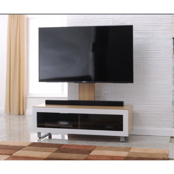 "TNW Munich TV Stand with Bracket for up to 55"" TVs"