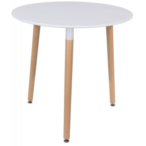 Core Products Aspen ASTB3 White Round Dining Table