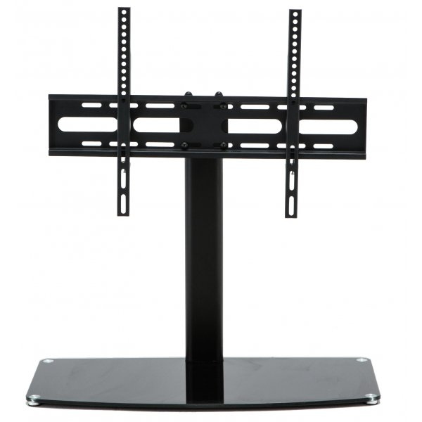 "Stealth Mounts SM-17 Universal Replacement Black Swivel Table Top TV Stand for up to 65"" TVs"