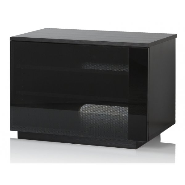 UK-CF New Barcelona Black TV Stand For TVs up to 42""