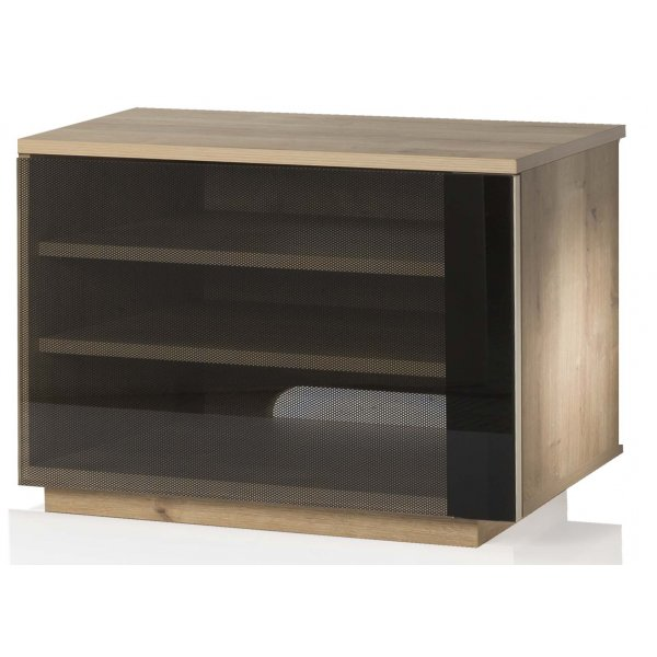 UK-CF New Barcelona Oak  TV Stand For TVs Up To 42""