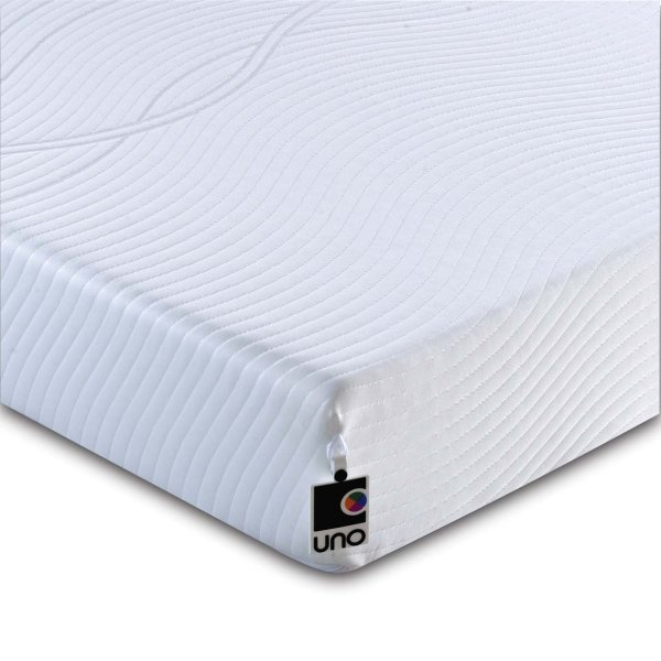 Breasley UNO Revive HD Memory Foam Mattress with Removable Cover - Small Double