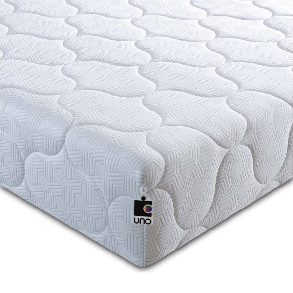 Breasley UNO Pocket 2000 Pocket Sprung Mattress with Quilted Cover - Single