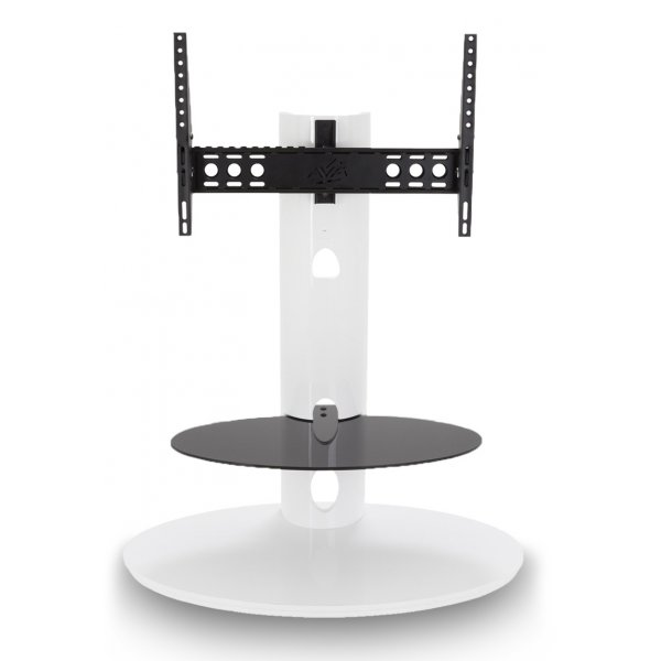 """AVF FSL930CHEGW Chepstow Gloss White Cantilever TV Stand for up to 65\"""""""