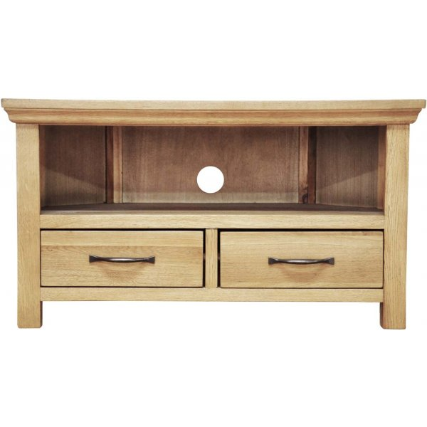 Ultimum Moorview Oak Corner TV Unit