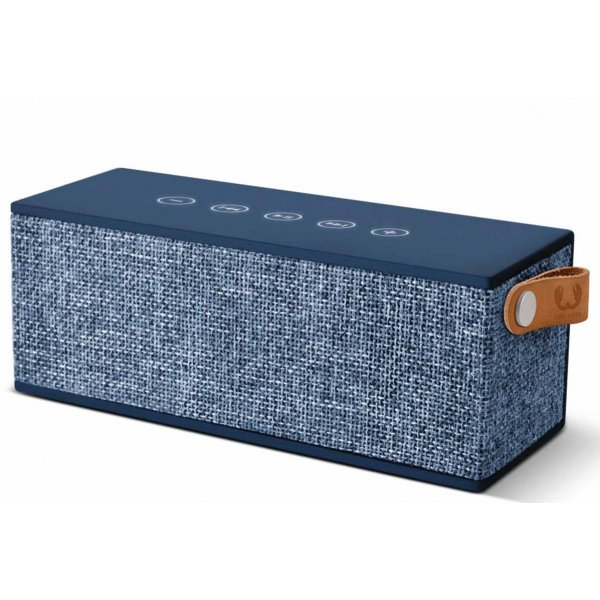 Fresh \'n\' Rebel Rockbox Brick Fabriq Indigo Blue Bluetooth Speaker