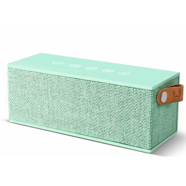 Fresh \'n\' Rebel Rockbox Brick Fabriq Peppermint Bluetooth Speaker
