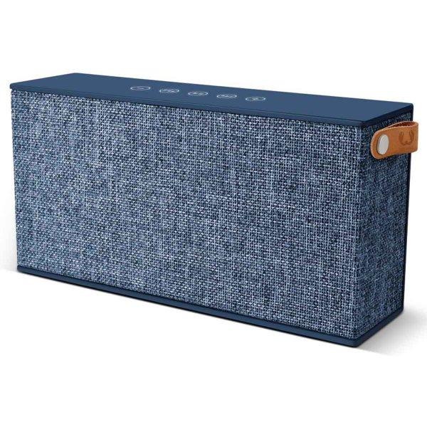 Fresh \'n\' Rebel Rockbox Chunk Fabriq Indigo Blue Bluetooth Speaker