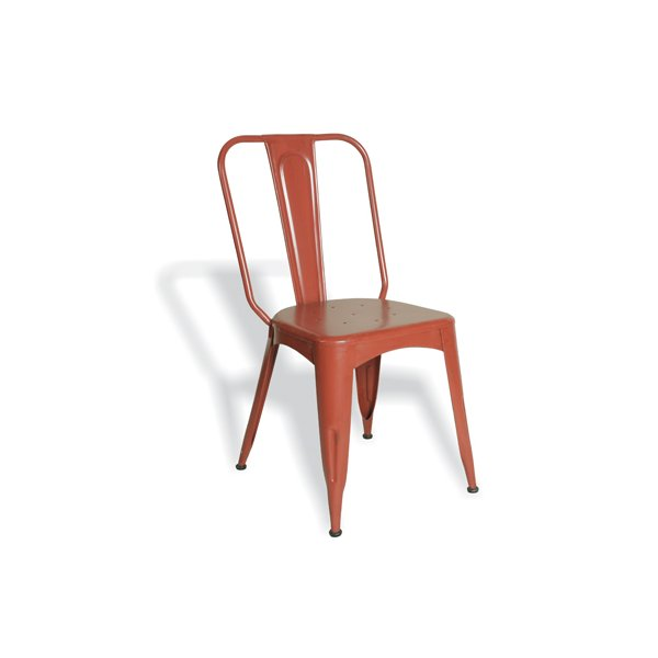 Ultimum Timeless Tolix Chair - Industrial Red