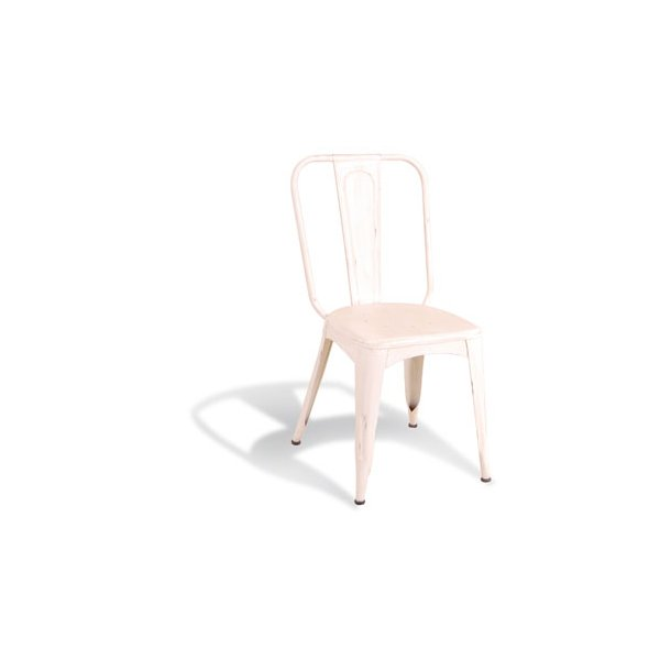 Ultimum Timeless Tolix Chair - Industrial White