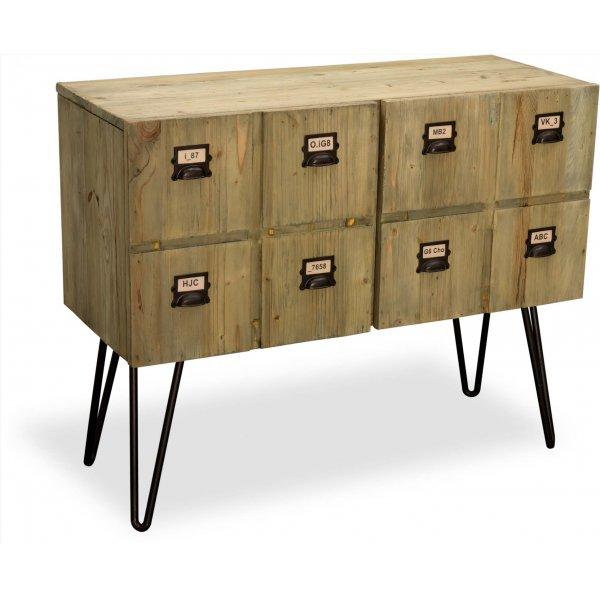 Ultimum Burden Vintage Style 2 Door Sideboard - Reclaimed Pine