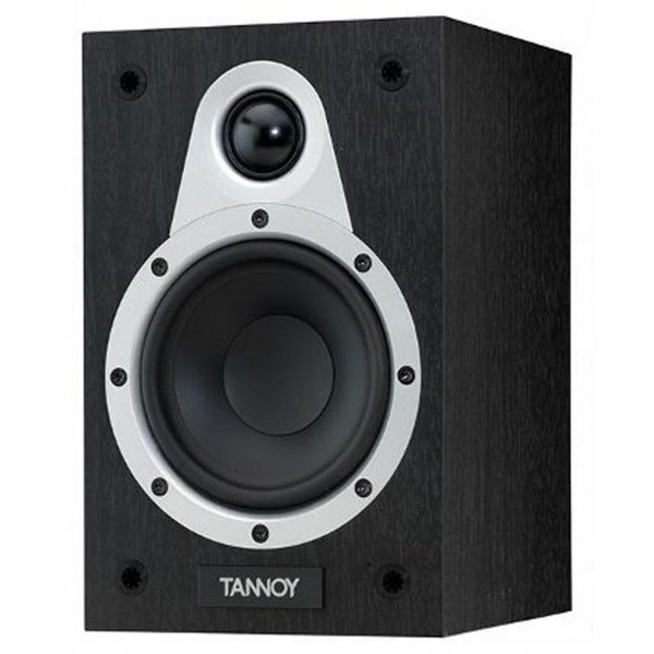 Tannoy Eclipse Mini Black Oak Bookshelf Speaker (Pair)