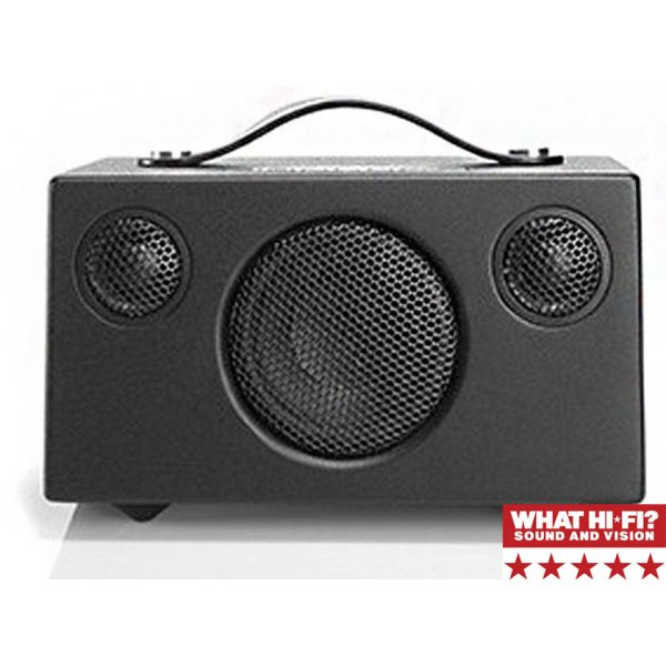 Audio Pro Addon T3 Wireless Bluetooth Stereo Speaker Black