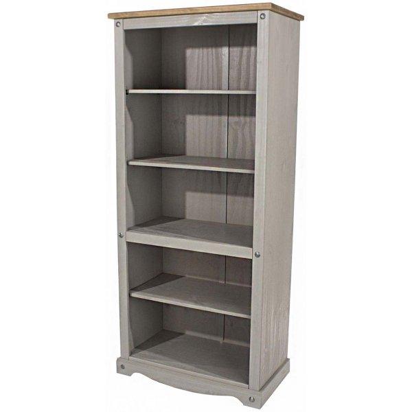 Core Products Corona Grey Tall Bookcase