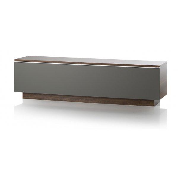 UK-CF Fusion TV Stand 160CM Walnut/Grey
