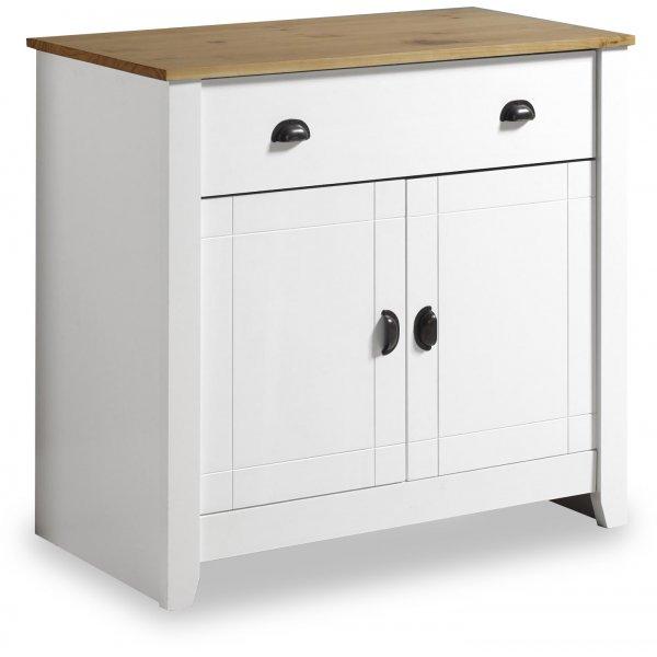 Valufurniture Ludlow Sideboard White/Oak