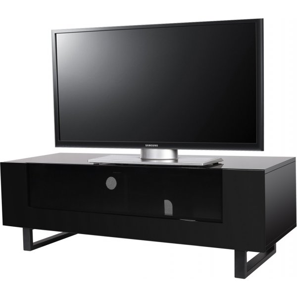 """MMT Hampshire Black TV Stand for up to 50\"""" TVs"""