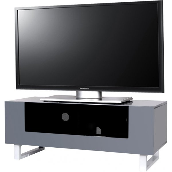 """MMT Hampshire Grey TV Stand for up to 50\"""" TVs"""