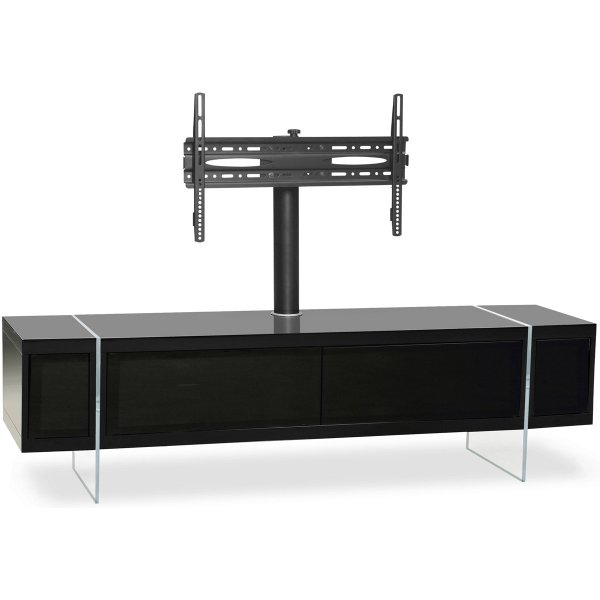 "MDA Designs Space Hybrid Black Cabinet with Bracket for up to 60"" TVs"