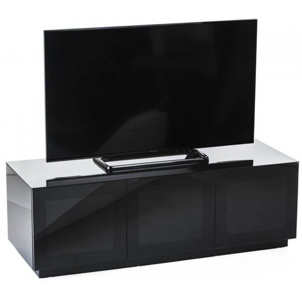 "Frank Olsen Chic CHIC140BLK Black TV Stand for up to 60"" TVs"
