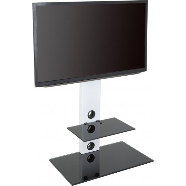 """AVF Lesina FSL700LESW Cantilever TV Stand for TVs up to 55\"""" - White"""