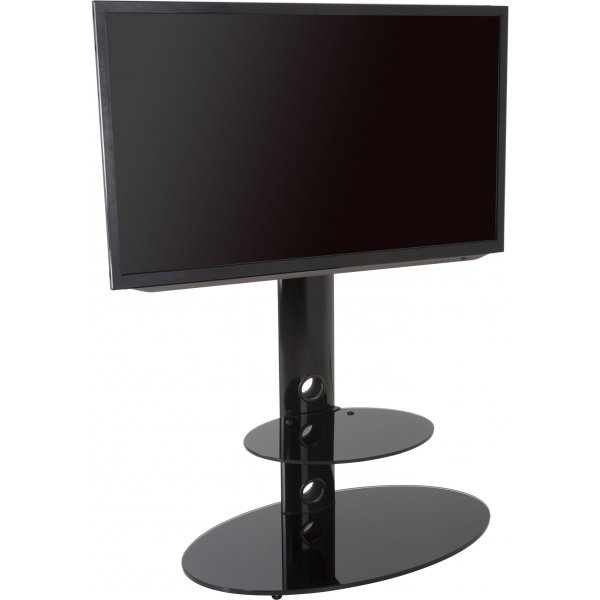 """AVF Lugano Cantilever TV Stand for TVs up to 60\"""" - Black"""