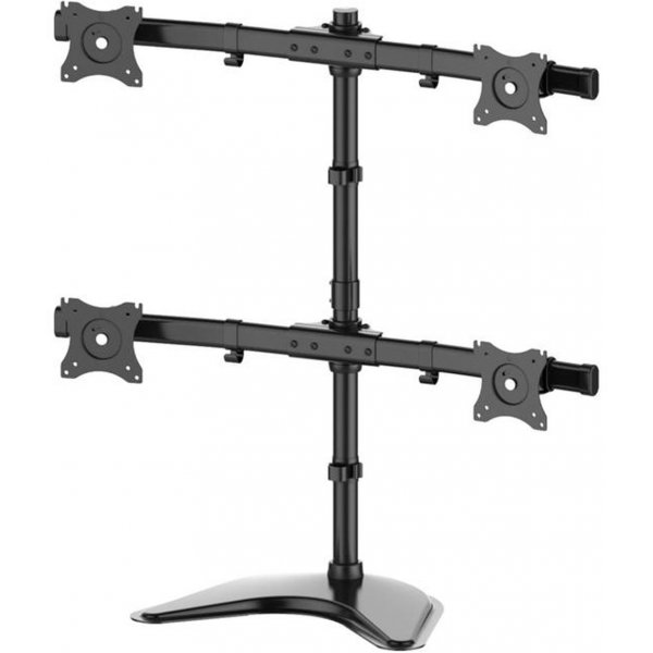 "Multibrackets Quad Deskstand for up to 27"" Monitors"