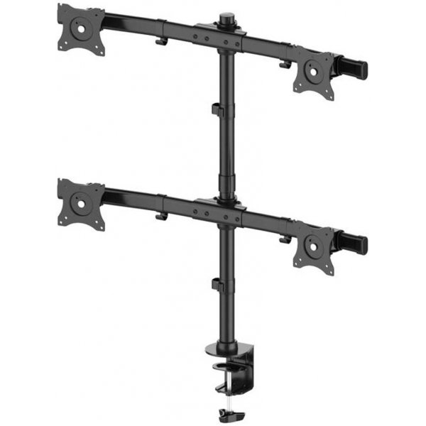 """Multibrackets 3316 Quad Deskmount for up to 27\"""" Monitors"""