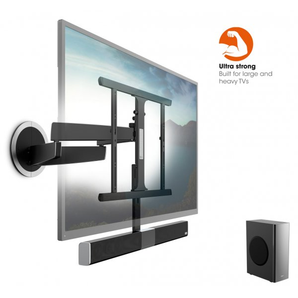 Vogels SoundMount NEXT 8365 Full motion TV wall mount with integrated sound