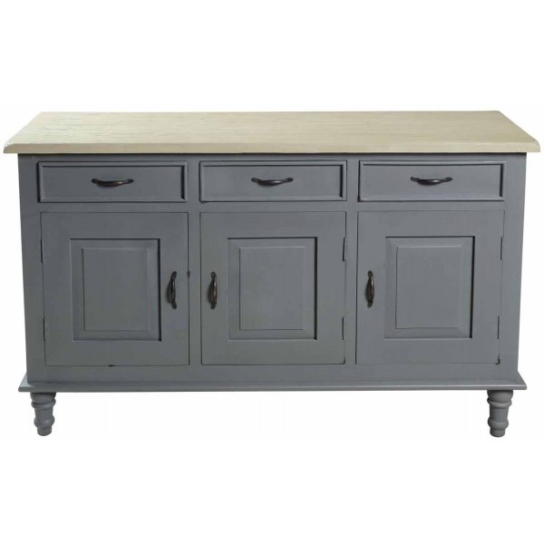 Mason and Bailey Thunder Sideboard with 3 Doors and 3 Drawers