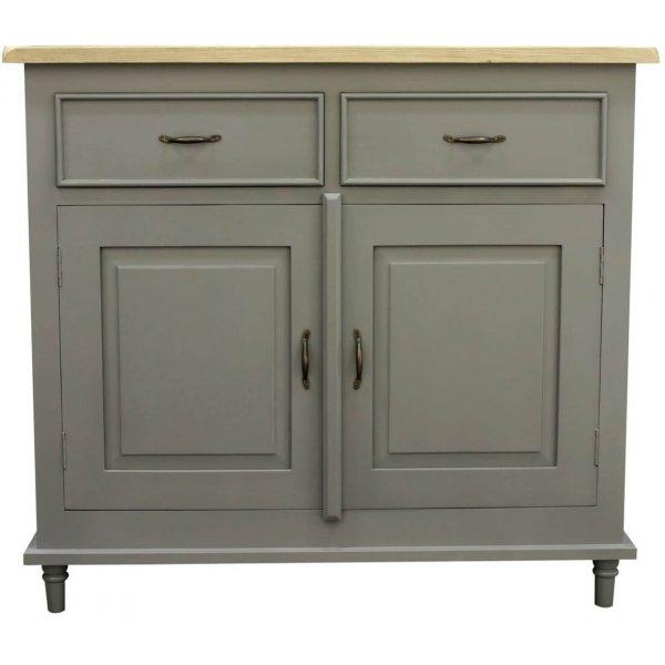 Mason and Bailey Thunder Grey 2 Door and 2 Drawer Sideboard