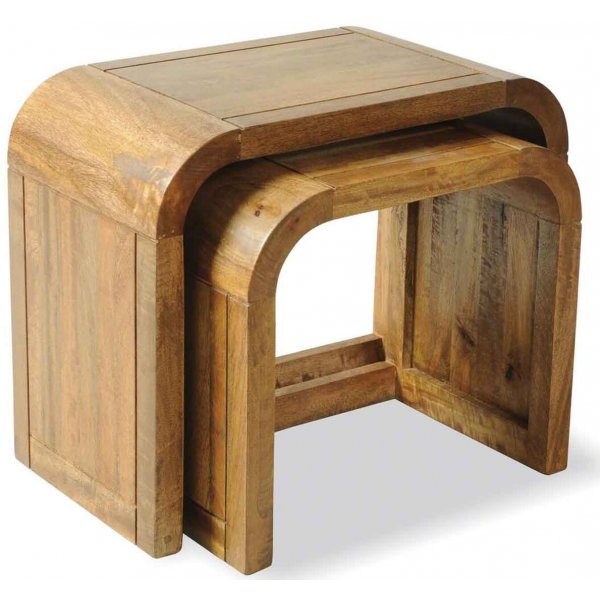 Mason and Bailey Tropic Nest of 2 Tables