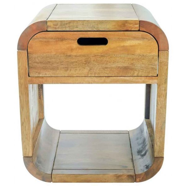 Mason and Bailey Tropic Side Table with Drawer