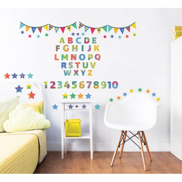 Walltastic ABC Learn with Me Wall Stickers