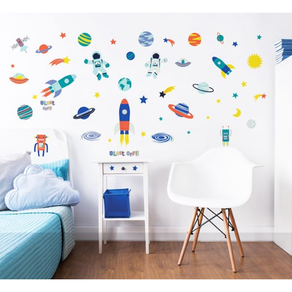 Walltastic Outer Space Wall Stickers