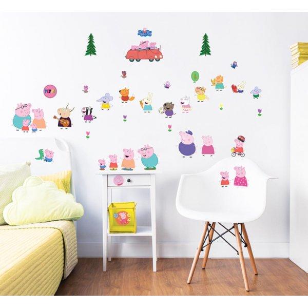 Walltastic Peppa Pig Wall Stickers
