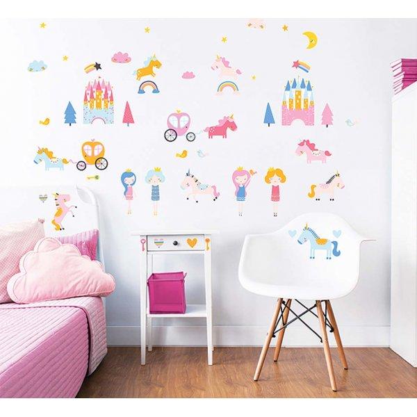 Walltastic Unicorn Kingdom Wall Stickers