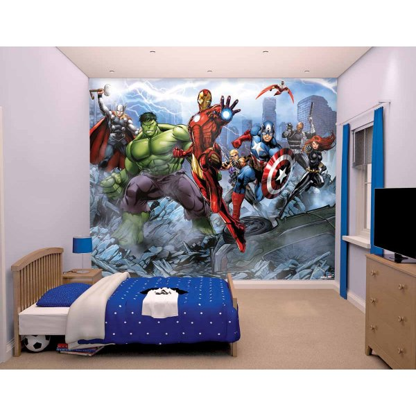 Walltastic Avengers Assemble 12 Piece Mural