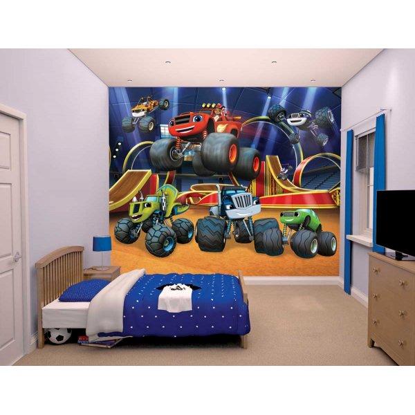 Walltastic Blaze and the Monster Machines 12 Piece Mural