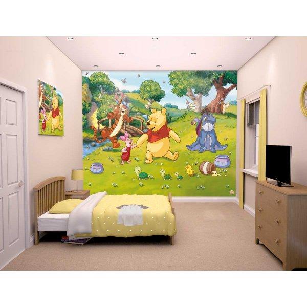 Walltastic Disney Winnie the Pooh 12 Piece Mural