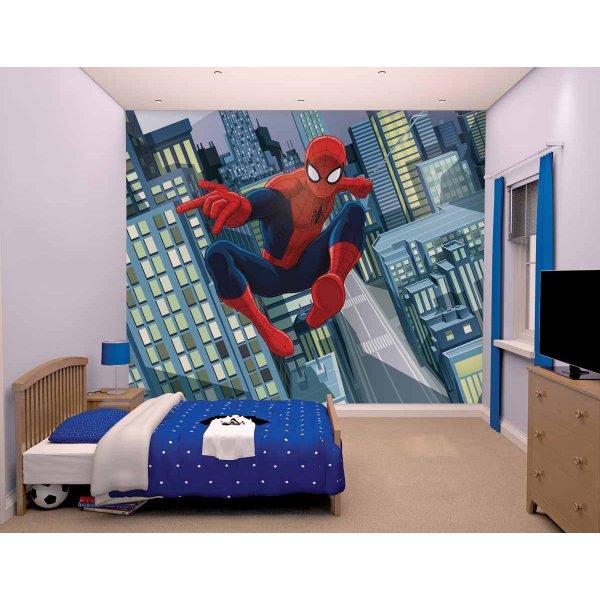 Walltastic Ultimate Spiderman 12 Piece Mural