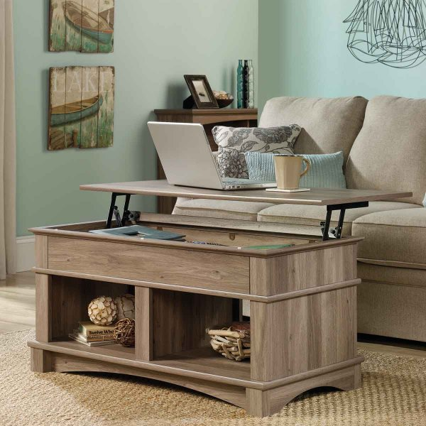 Mason and Bailey Trent Lift up Oak Coffee Table