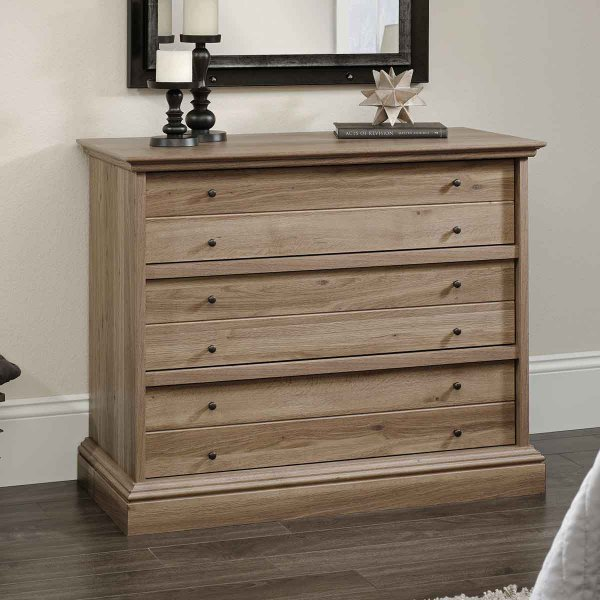 Mason and Bailey Trent 3 Drawer Oak Chest