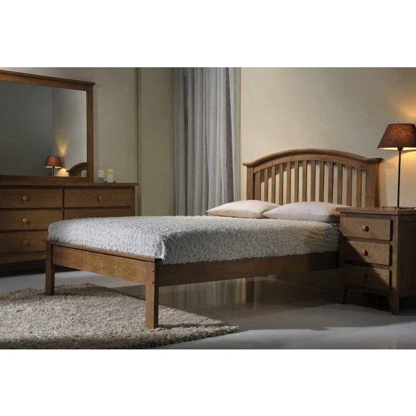 Ultimum Leeswood 4ft6 Double Oak Bed
