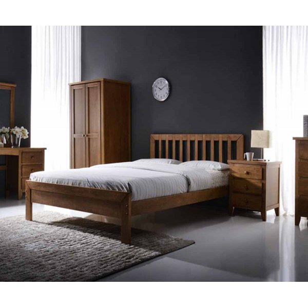 Ultimum Drury 4ft Oak Small Double Bed
