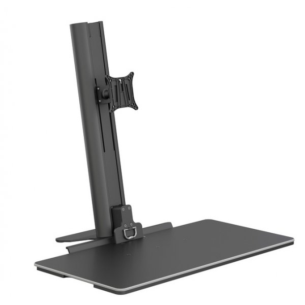 """Multibrackets Easy Stand Desktop Monitor Stand For Up To 30\"""" - Black"""