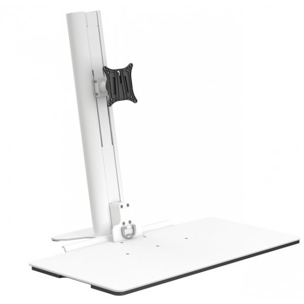 """Multibrackets Easy Stand Desktop Monitor Stand For Up To 30\"""" - White"""